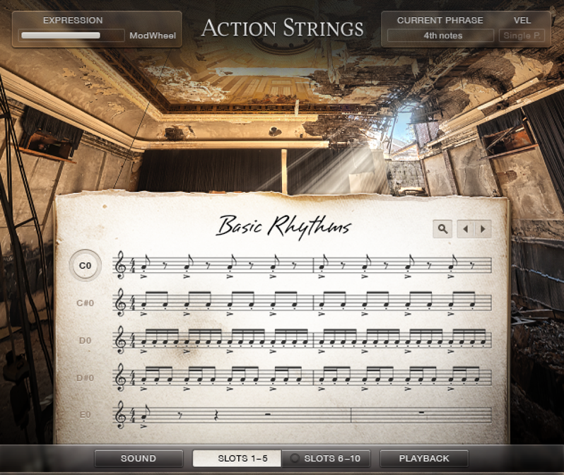 ActionStrings