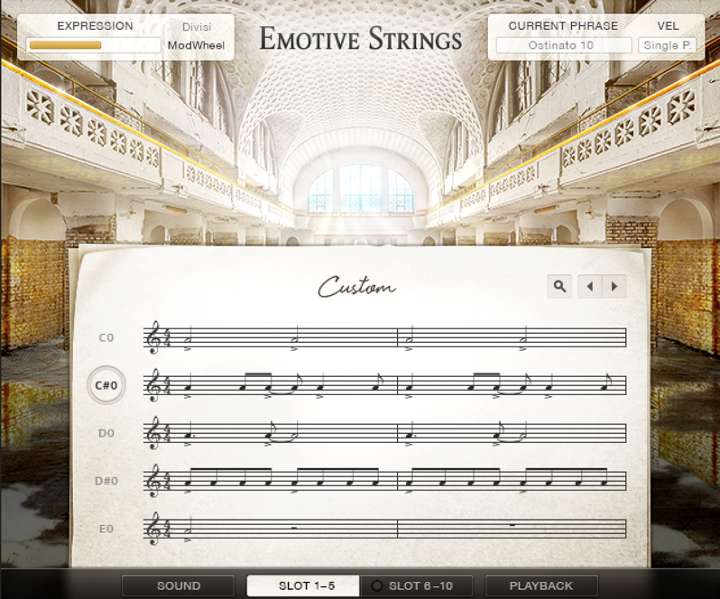 EMOTIVE STRINGS